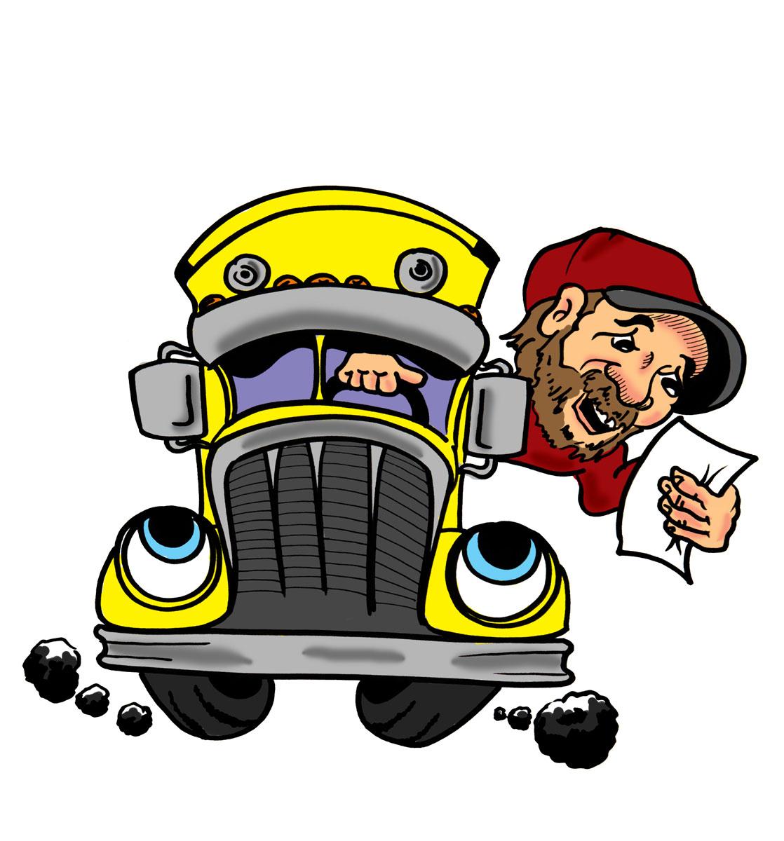 Driver Images Cartoon